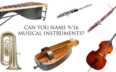 diferentes instrumentos musicales